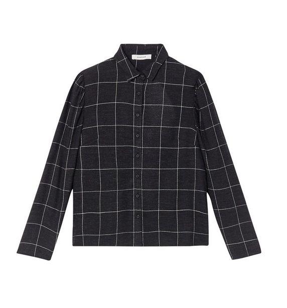Chemise à carreaux Femme offre à 20,96€