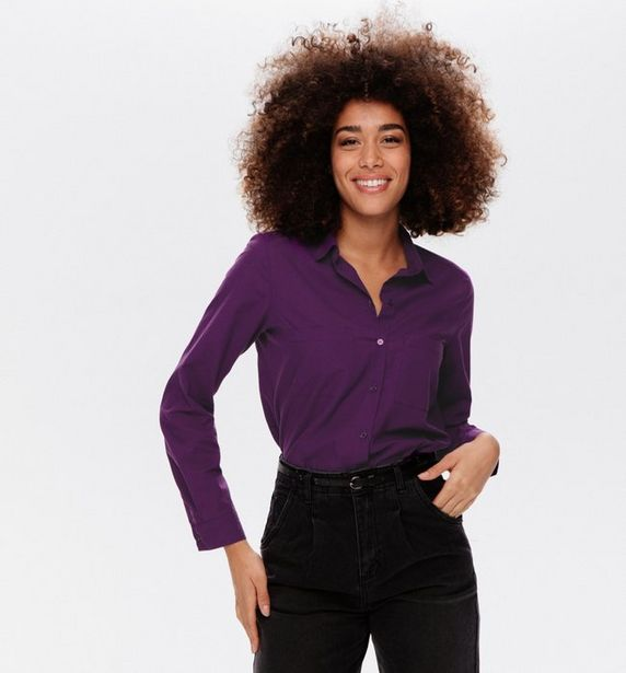Chemise en popeline Femme offre à 18,16€