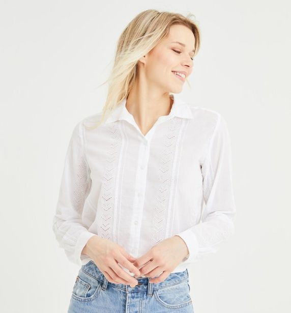 Chemise ajourée Femme offre à 14,97€