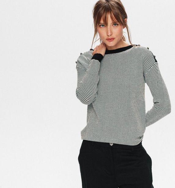 Pull jacquard Femme offre à 25,16€