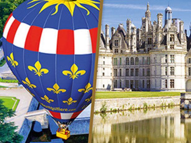 Séjour en Touraine avec vol en montgolfière d'1h à proximité des châteaux de la Loire offre à 539,82€