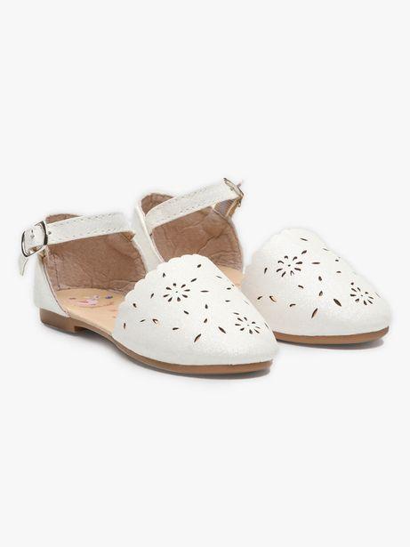 Sandales blanches pailletées enfant fille offre à 17,99€