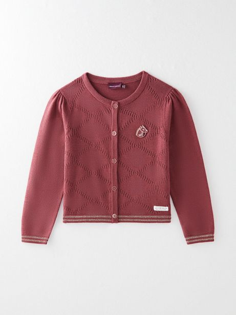 Cardigan tricot fantaisie offre à 25,99€