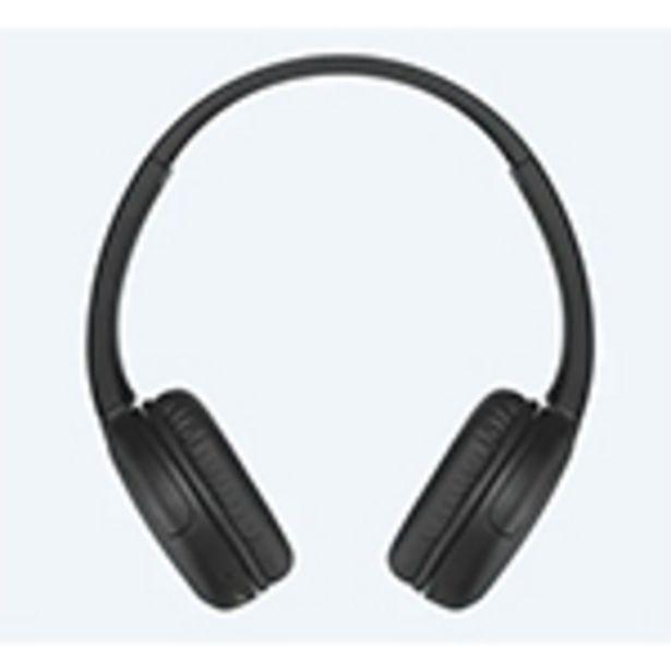 Casque Bluetooth Sony WH-CH510 noir offre à 39,99€