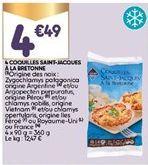 Coquilles Saint-Jacques offre à 4,49€