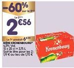Bière Kronenbourg offre à 4,47€