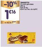 Génoise offre à 1,16€