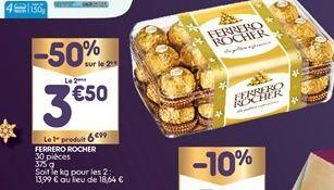 Chocolats Ferrero Rocher offre à 5,24€