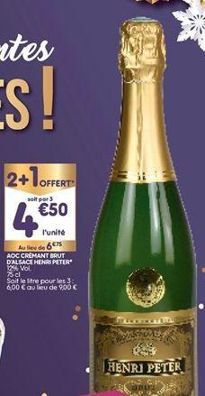Champagne brut offre à 4,5€