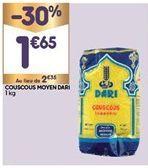 Couscous offre à 1,65€