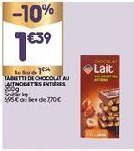 Chocolats offre à 1,39€