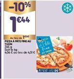 Pizza offre à 1,44€