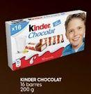 Chocolat au lait Kinder offre à