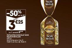 Chocolats Révillon offre à 4,87€