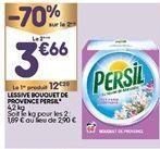 Lessive  en poudre Persil offre à 7,93€