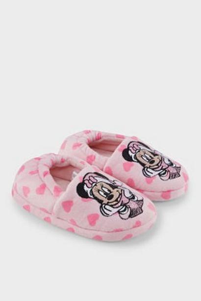 Minnie Mouse - chaussons - finition brillante offre à 4,5€