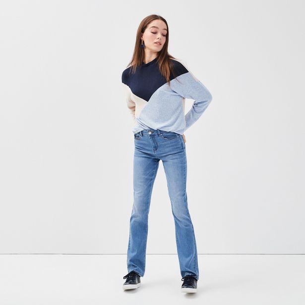 Jeans regular denim double stone femme offre à 20,99€