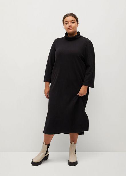 Robe maille col roulé offre à 19,99€
