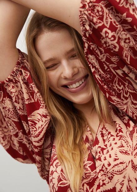 Robe fluide imprimée offre à 49,99€