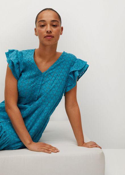 Robe brodée coton offre à 69,99€