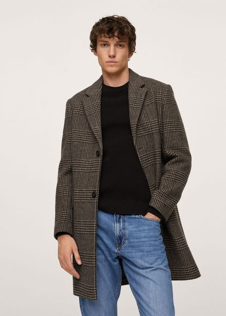 Manteau laine prince de galles offre à 159,99€