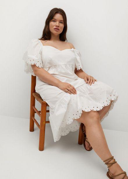 Robe brodée coton offre à 29,99€