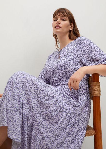 Robe fluide à imprimé floral offre à 39,99€