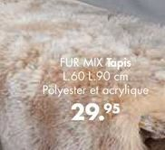 FUR MIX tapis offre à 29,95€