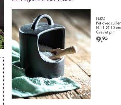 FERO pot avec cuillen  offre à 9,95€