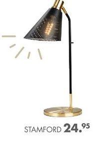 STAMFORD Lampe de bureau noir H 55 x Larg. 30 x P 18 cm offre à 24,95€