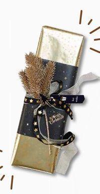 GOLDY Papier de soie 3 motifs diverses couleurs Larg. 70 x Long. 300 cm offre à 1,75€