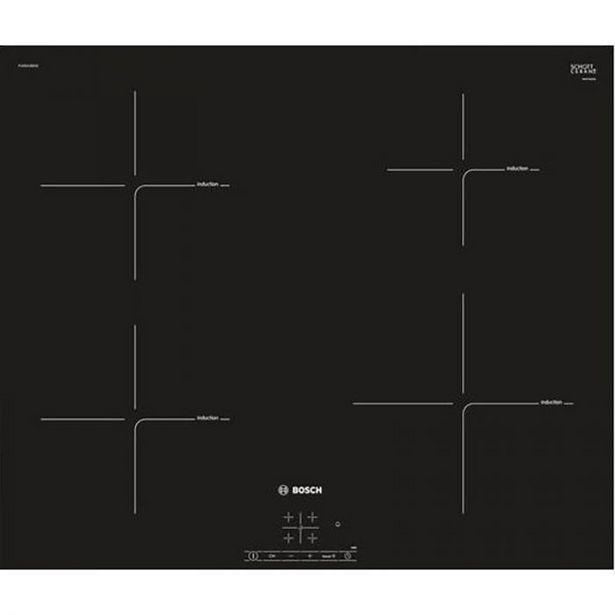 TABLE INDUCTION BOSCH PUE631BB2E offre à 369,95€