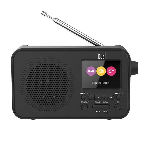 Radio DUAL DL DAB205 NOIR offre à 34,95€