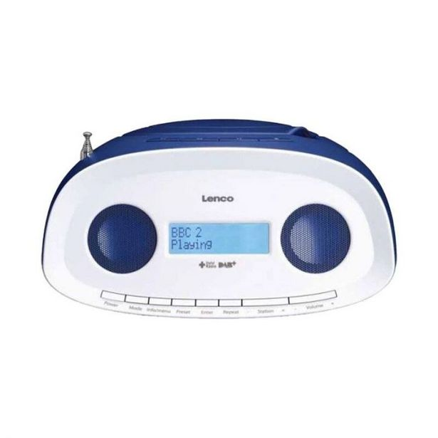 Radio CD LENCO SCD-69 DAB+ / FM avec CD, MP3, USB Bleu offre à 59,95€
