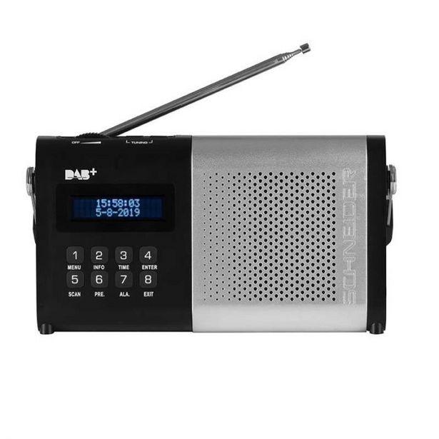 Radio SCHNEIDER SC180ACLSILVER offre à 22,95€
