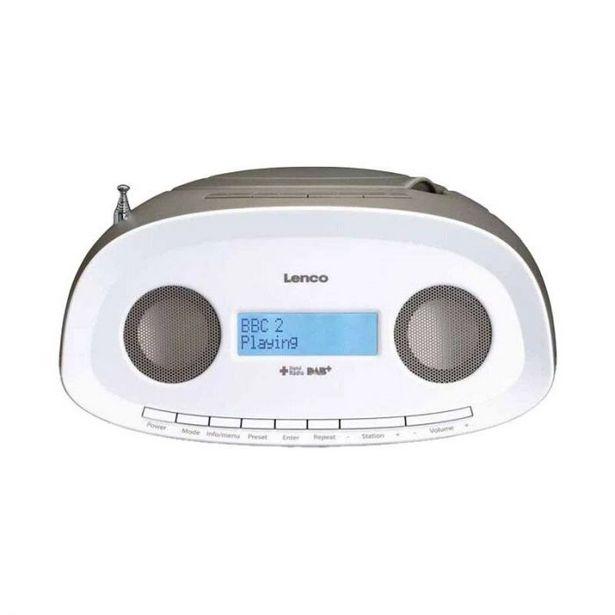 Radio CD LENCO SCD-69 DAB+ / FM avec CD, MP3, USB Taupe offre à 59,95€