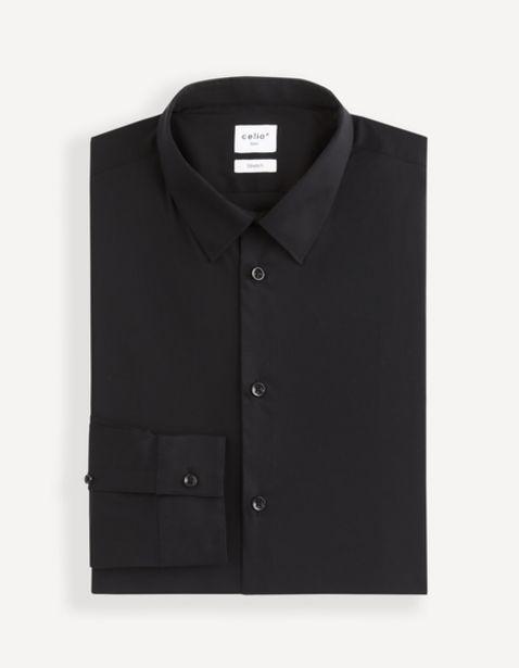Chemise slim coton stretch offre à 25,99€