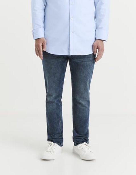 Jean C15 straight coton bio 3 longueurs offre à 49,99€
