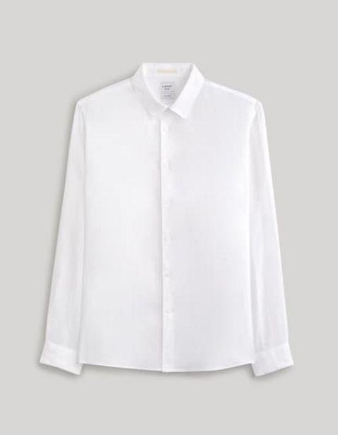 Chemise regular 100% lin offre à 15€