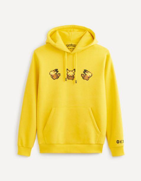 POKEMON - sweat à capuche Pikachu offre à 20€