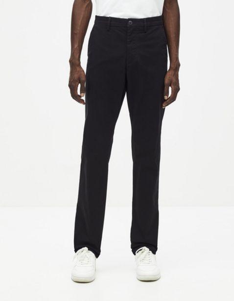Chino straight coton stretch offre à 17,99€