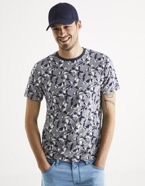 T-shirt col rond offre à 8€