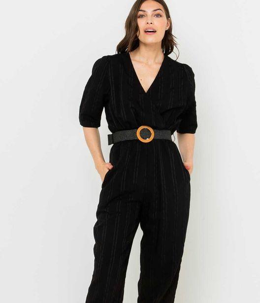 Combi-pantalon cache-coeur femme offre à 15€