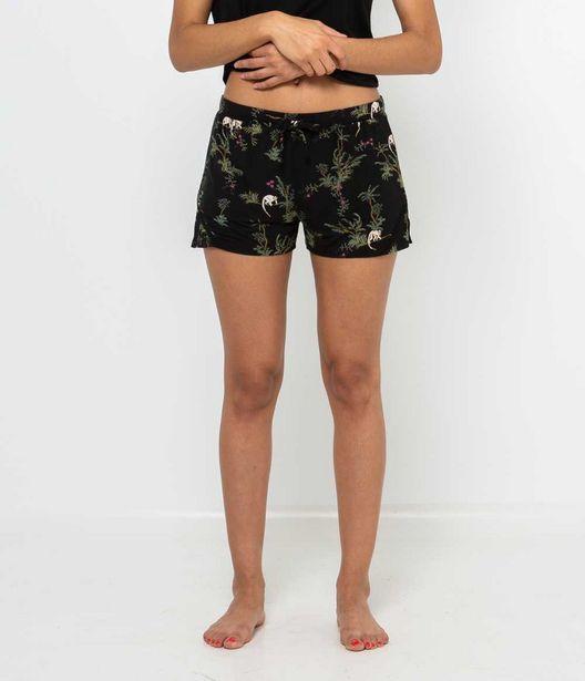 Short imprimé homewear femme offre à 7,99€