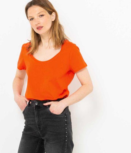 T-shirt femme en coton bio offre à 5€