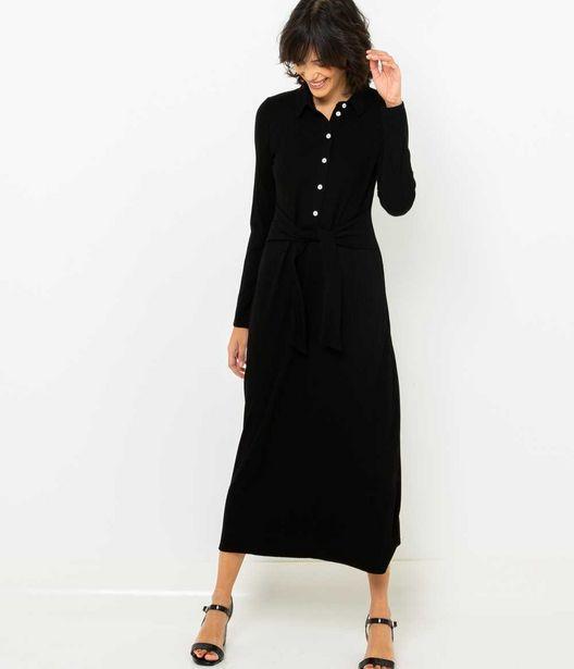Robe longue en maille offre à 15€