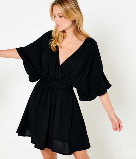 Robe courte cache-cœur offre à 15€