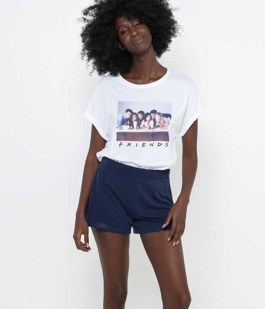 Short glitter homewear femme offre à 7,99€