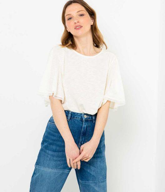 T-shirt femme en coton-modal offre à 10€