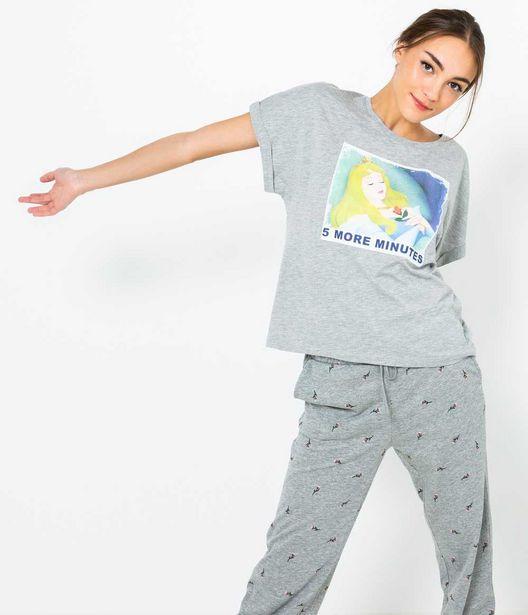 T-shirt homewear princesse femme offre à 7,99€